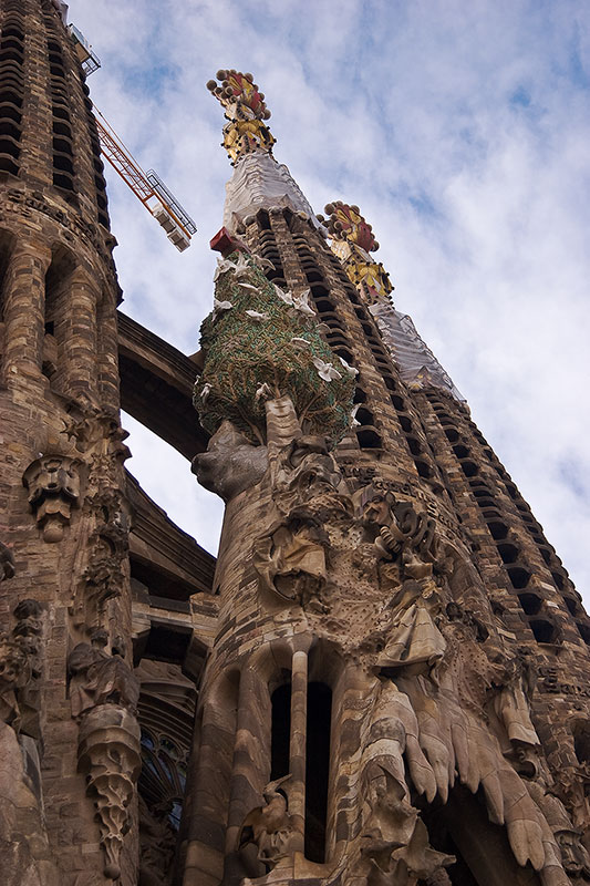 Sagrada Familia in Barcelona, Spain - Splendid architecture