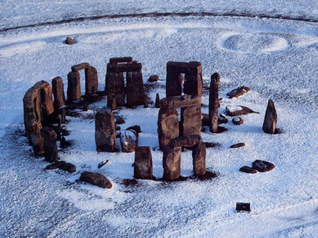 Stonehenge in United Kingdom - Aerial view