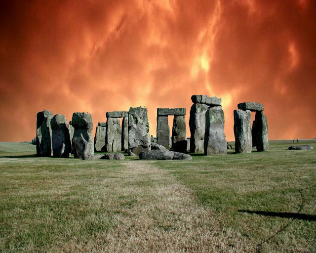 Stonehenge in United Kingdom - Unsolved mystery