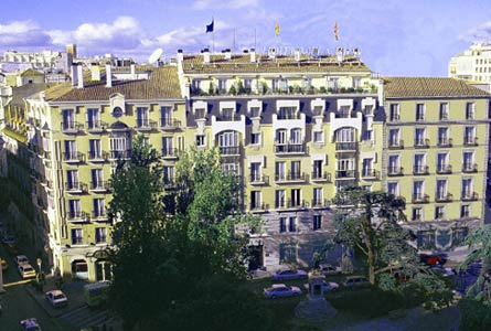 Hotel Villa Real The Best 5 Star Hotels In Madrid Spain