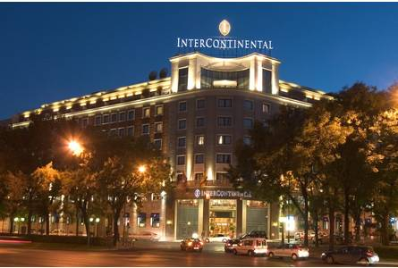Hotel Intercontinental The Best 5 Star Hotels In Madrid