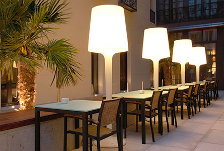 Hotel Vincci Soho - Outdoor spaces