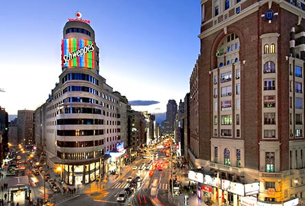 Hotel Vincci Capitol The Best 4 Star Hotels In Madrid Spain