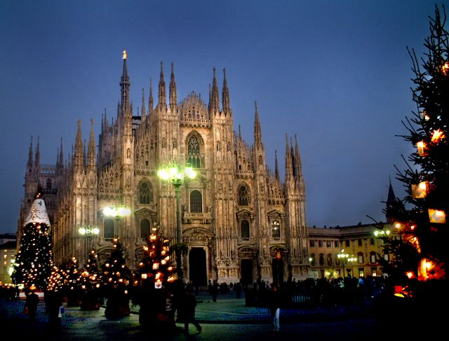 Milano - Duomo at night