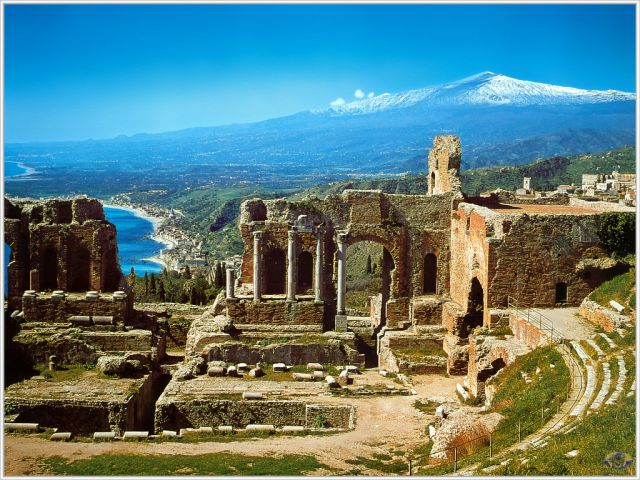 Taormina - Breathtaking scenery