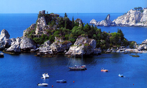 Taormina - Great natural setting
