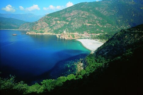 Corsica in France - Great natural scenery