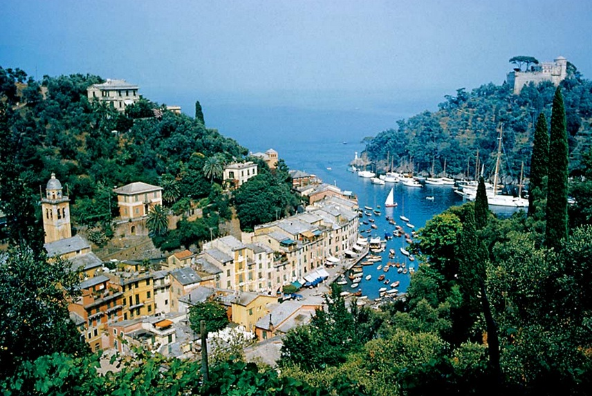 Portofino in italy the best places of the mediterranean for Best place in italy