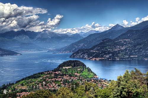 Lake Como - Picturesque setting