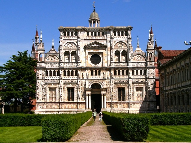 Certosa di Pavia - Church view
