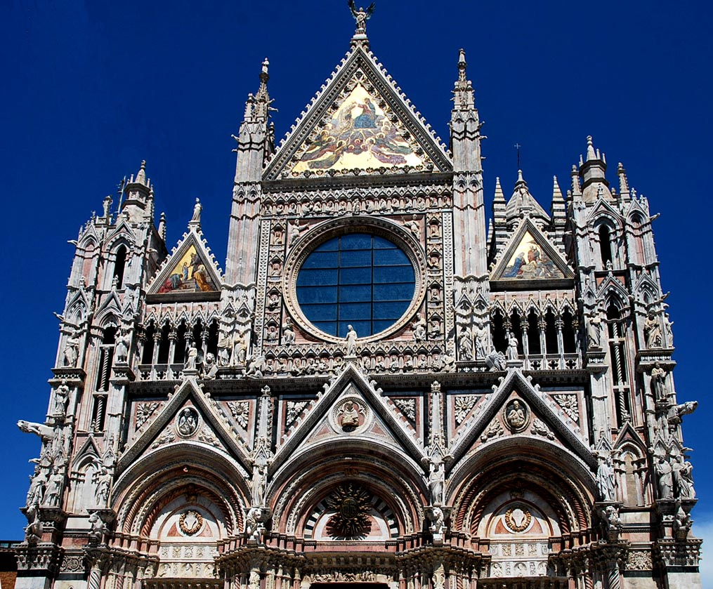 Siena Cathedral - Beautiful facade