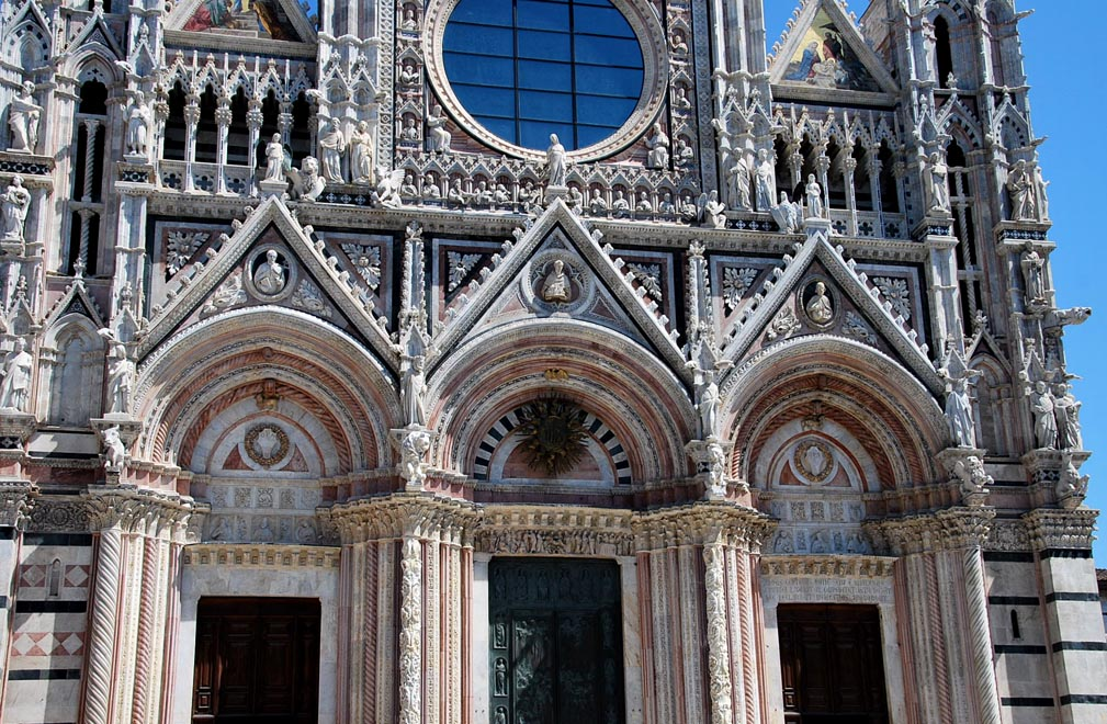 Siena Cathedral - Facade details