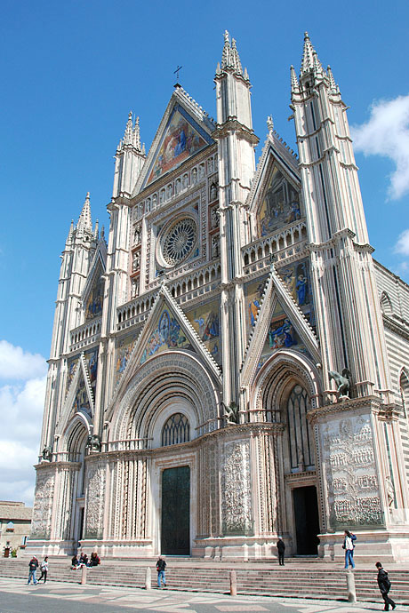West Facade of Orvieto Cathedral Orvieto Cathedral Facade of