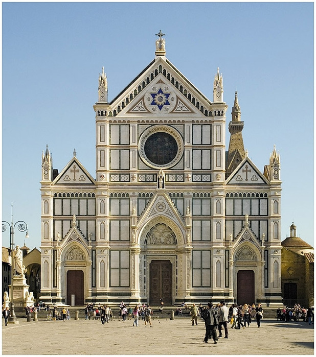 Basilica Santa Croce - The most beautiful churches of Italy