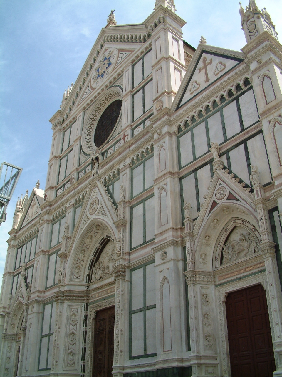 Basilica Santa Croce - Beautiful facade