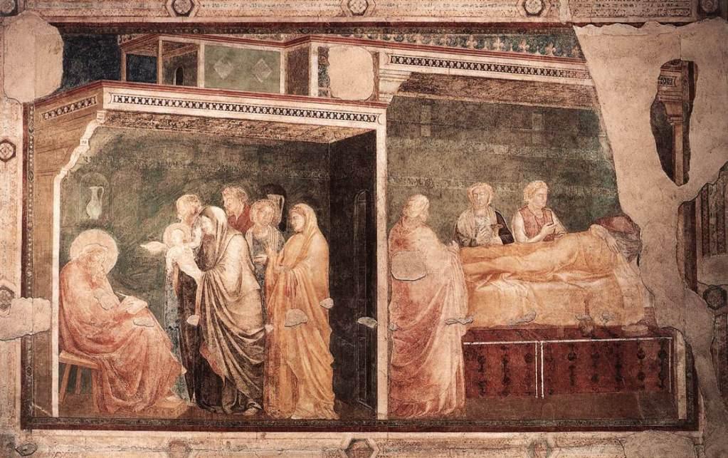 Images Basilica Santa Croce Giotto fresco 6550
