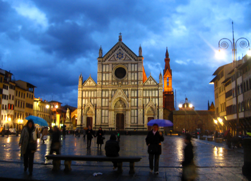 Basilica Santa Croce - Night view