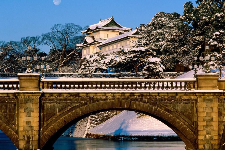 Japan - Imperial Palace in Tokyo
