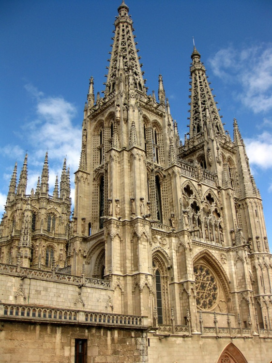 Images Burgos Cathedral Great Architecture 7029