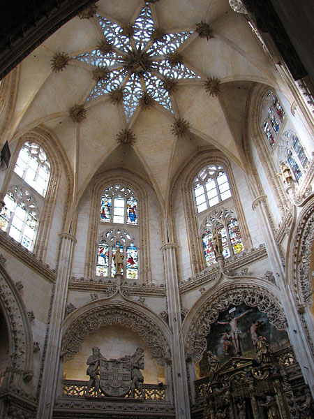 Burgos Cathedral - The most beautiful cathedrals of Spain  Burgos Cathedra...