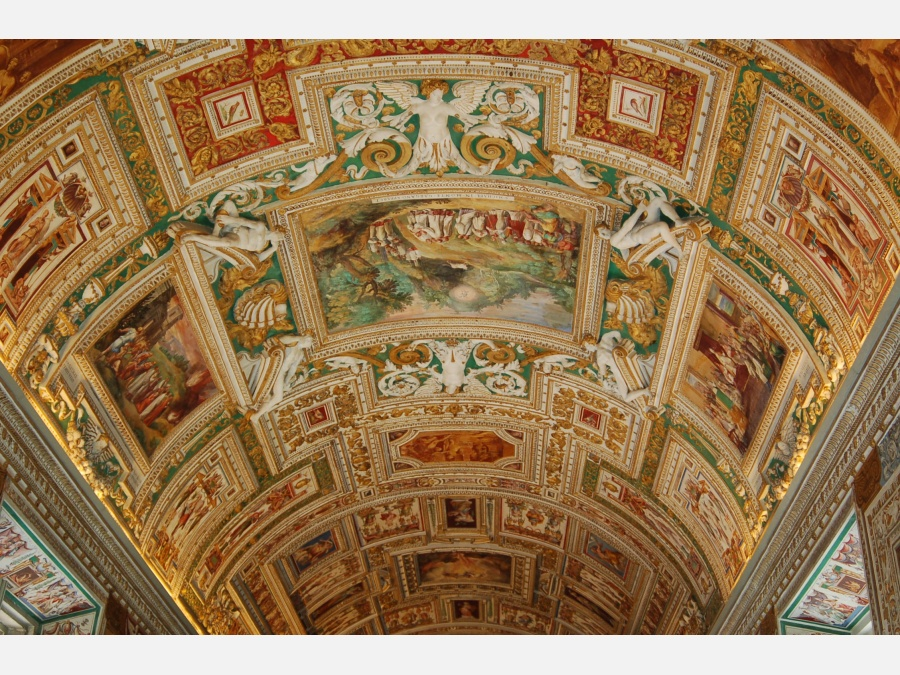 Vatican Museums - Interior view