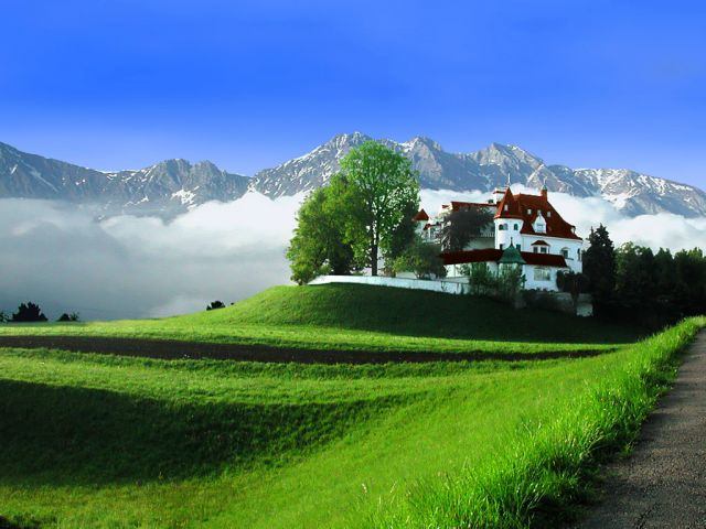 Switzerland - Excellent location