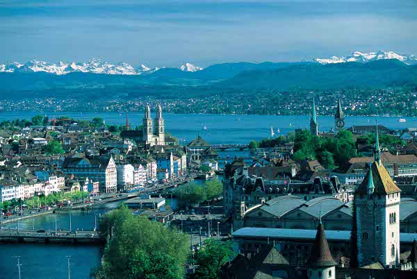 Switzerland - Excellent setting
