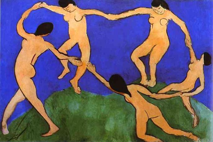The Museum of Modern Art in New York - The Dance by Henri Matisse