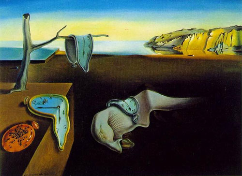The Museum of Modern Art in New York - The Persistence of Memory by Salvador Dalí