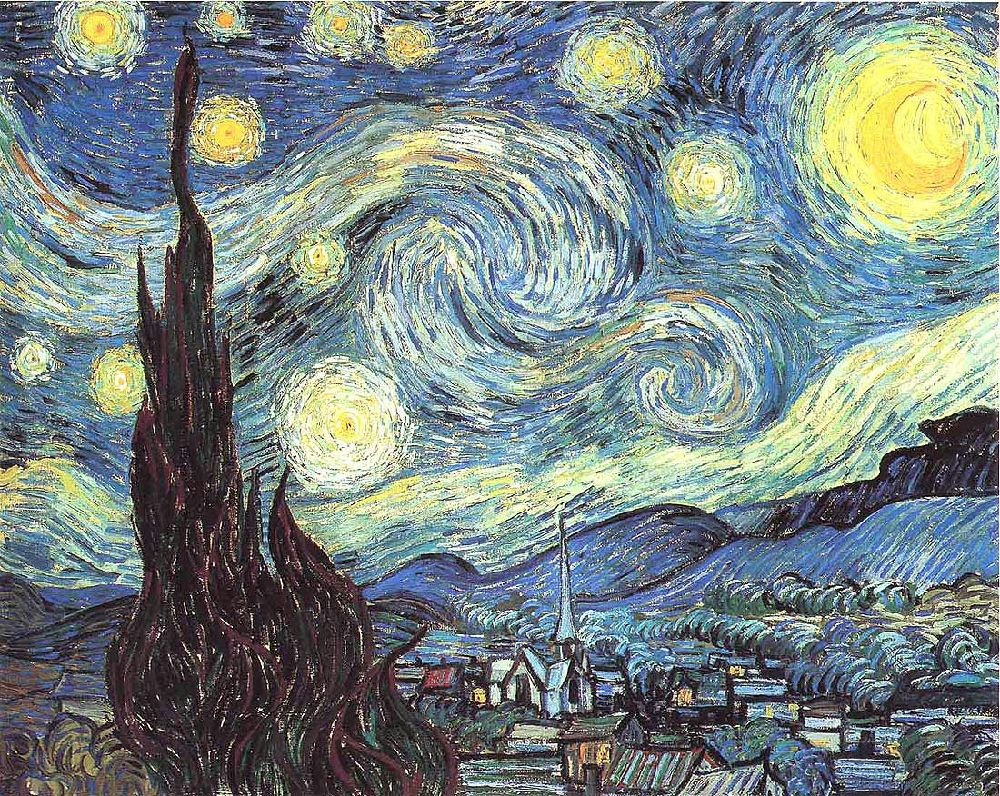 The museum of modern art in new york the starry night by vincent van