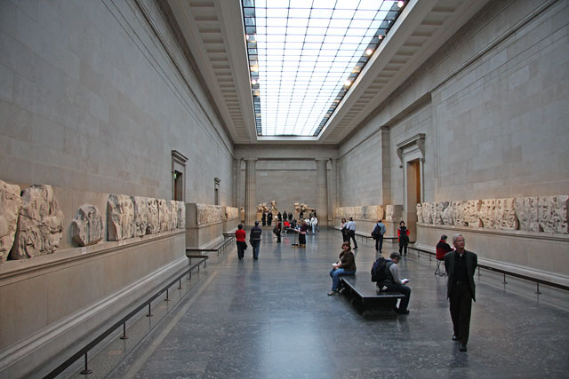 The British Museum in London - Art gallery