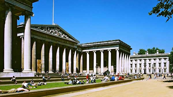 The British Museum in London - General view