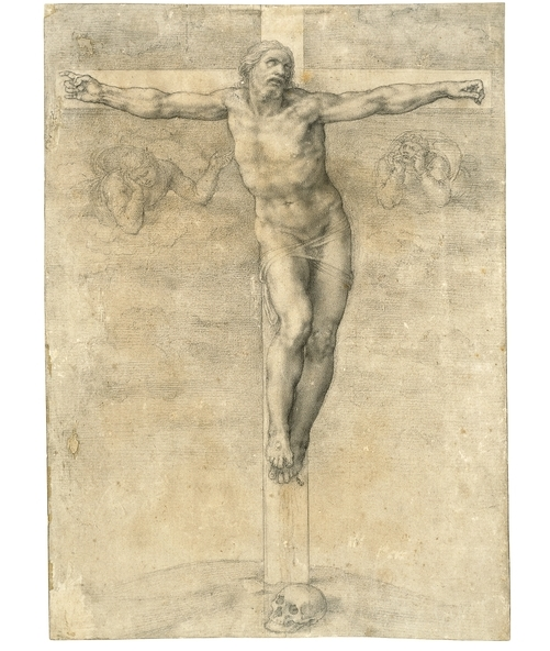 The British Museum in London - Michelangelo Buonarroti, Christ on the Cross