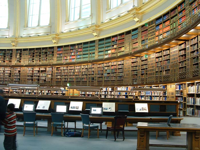The British Museum in London - Reading Room