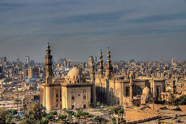 Egyptian Museum in Cairo - Cairo view