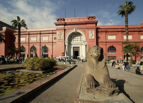 Egyptian Museum in Cairo - General view