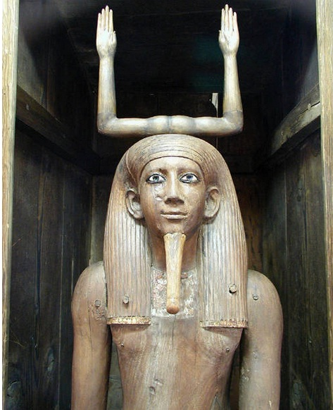 Egyptian Museum in Cairo - Ka statue