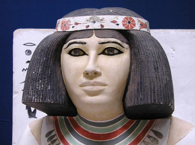 Egyptian Museum in Cairo - Nofret statue