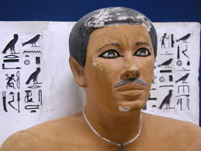 Egyptian Museum in Cairo - Rahotep statue