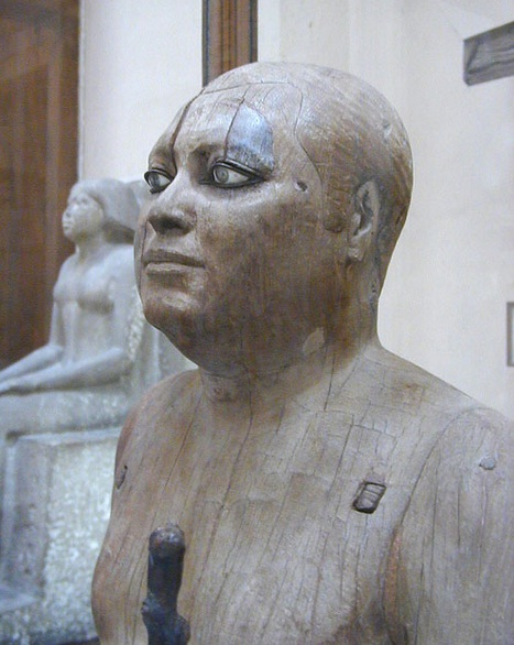 Egyptian Museum in Cairo - The oldest wooden statue