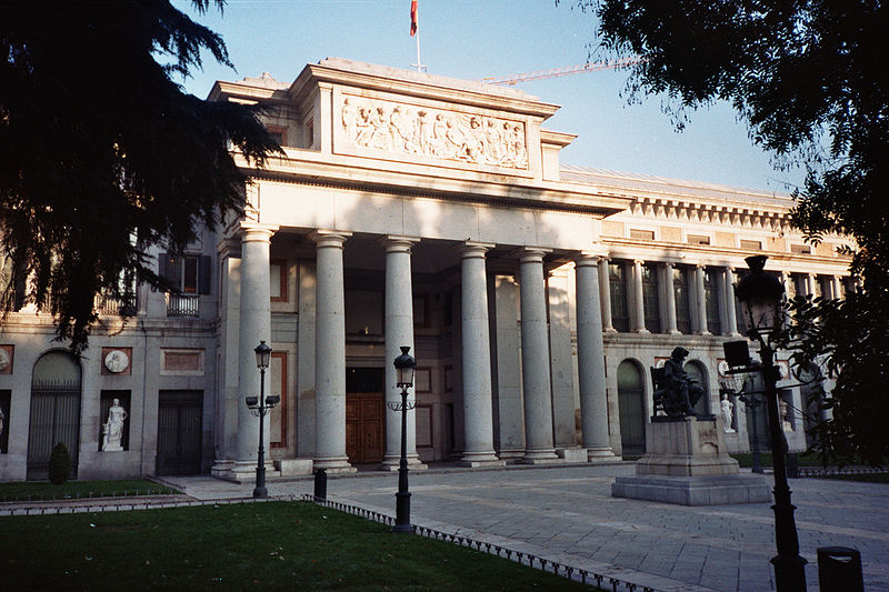 Museo del Prado in Madrid - Exterior view