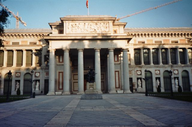 Museo del Prado in Madrid - Facade of the museum
