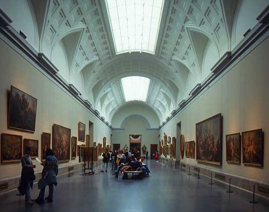 Museo del Prado in Madrid - Interior view