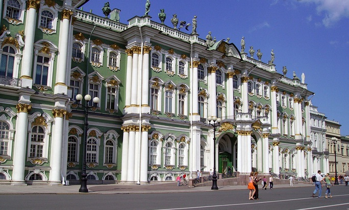 Hermitage Museum in Saint Petersburg - Exterior view