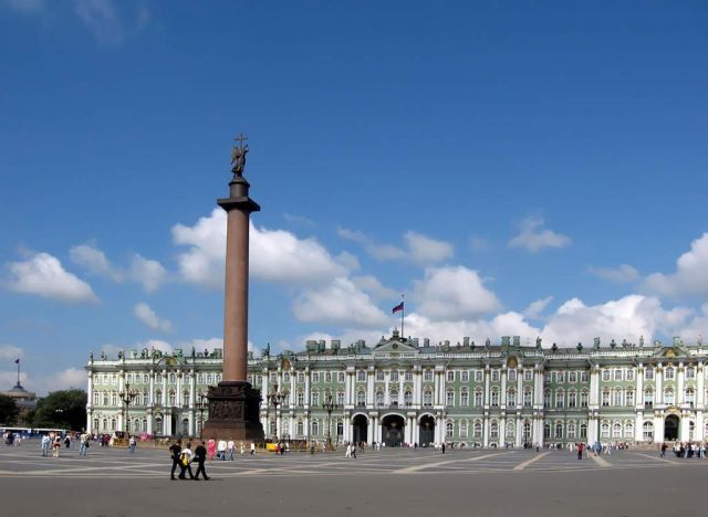 Hermitage Museum in Saint Petersburg - Hermitage view