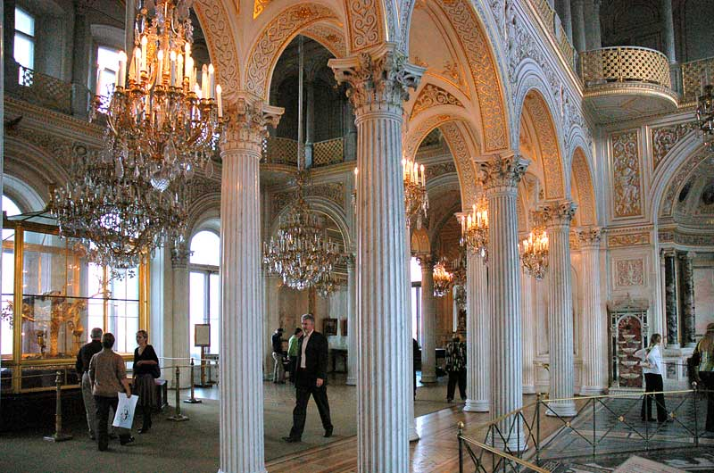 Hermitage Museum in Saint Petersburg - Interior view