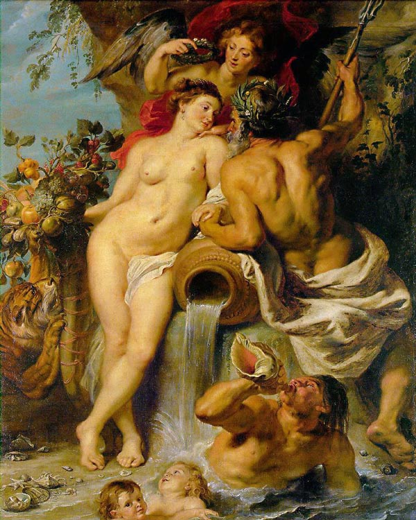 Hermitage Museum in Saint Petersburg - Peter Paul Rubens art work