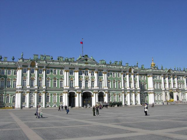 Hermitage museum in saint petersburg - images winter palace