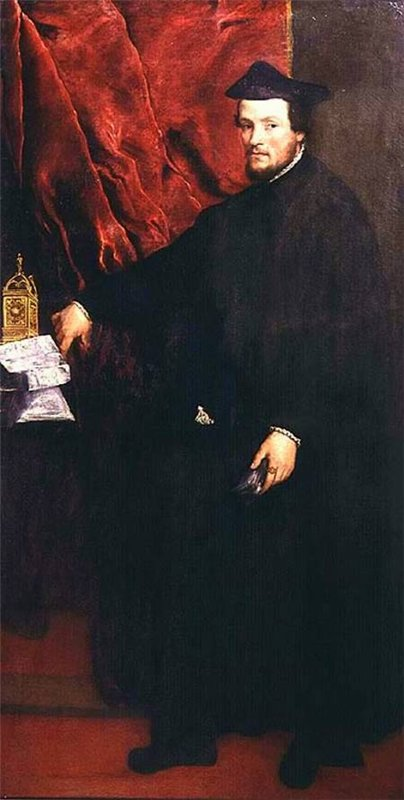 Sao Paolo Museum of Art - Portrait of Cardinal Cristoforo Madruzzo by Titian