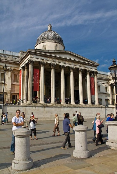 National Gallery of London - Exterior view